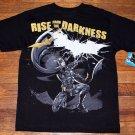 NWT Boys DC Comics Batman The Dark Knight Rises T Shirt Size XL 14/16