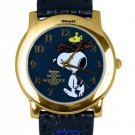 NEW Men's Armitron Peanuts Snoopy and Woodstock Collectors Edition Watch HTF