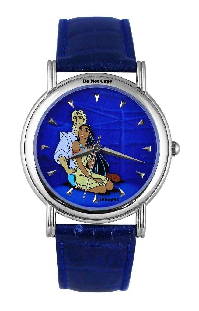 NEW Disney Fossil Pocahontas and John Smith Limited Edition Watch HTF