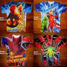NEW Boys Marvel Hulk Captain American Thor Iron Man Spider Man Comics T Shirt