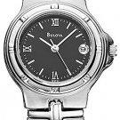 NEW Ladies Bulova Black Dial Date Watch