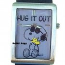NEW Mens Armitron Snoopy & Woodstock Peanuts Large Watch HTF