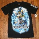 NEW Authentic Disney Mickey and Kingdom Hearts Black Tshirt Size S