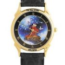 NEW DISNEY MICKEY MOUSE SORCERER FANTASIA LASSEN WATCH BY CHRISTIAN RIESE WATCH