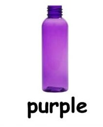 SALE: (12 ct) 1 oz. Purple Plastic Bottles with Black Sprayer  INCLUDES SHIPPING