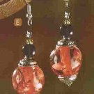 NEW RIO CORAL EARRINGS (PAIR) (#39595)