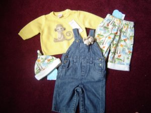 Gymboree In the Jungle boys 0-3 3-6 NWT
