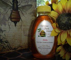 Galberry Honey 16oz - - Raw, Pure, Natural