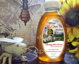Local Wildflower Honey 16oz  - Raw, Pure, Natural