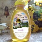 Lavender Honey 16oz  -  Raw, Unheated, Unfiltered, Unprocessed