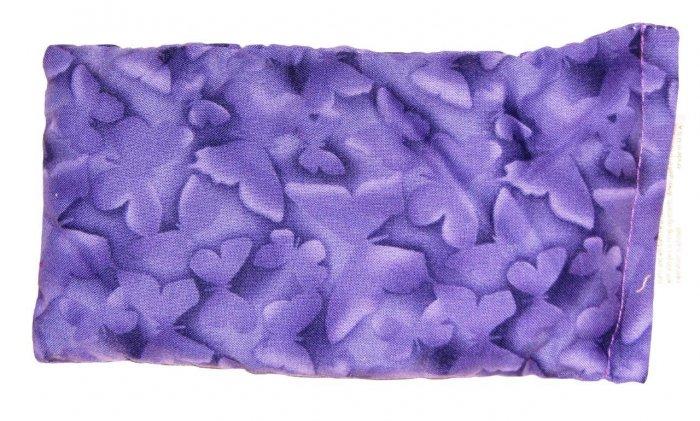 Purple with butterflies pattern