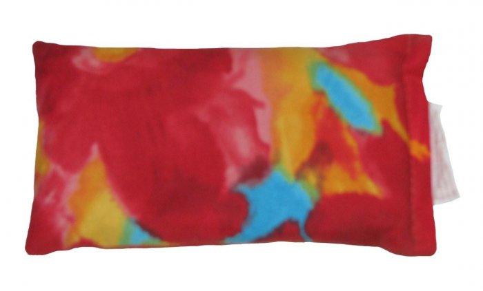 Red tie dye pattern