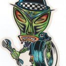 Wrench Tiki Sticker (S-81)