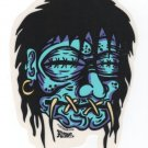 Shrunken Head Sticker (S-136)