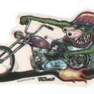 Monster Biker Sticker (S-109)
