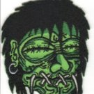 Shrunken Head Embroidered Patch (p-310)