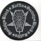Black Koffin Embroidered Patch (p-323)