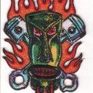 Piston Tiki Embroidered Patch (p-340)