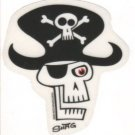 Small Pirate Skull Sticker (S-439)