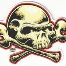 Small Dome Skull Sticker (S-459)