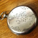 Swiss (Geneva) Key Wind, Silver Case (non-running) – For Parts or Repair (Pocket Watches)
