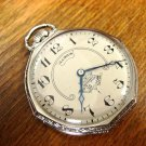 Illinois Secometer 19 Jewel Pocket Watch – Ornate, Odd Shape Case (Pocket Watches)