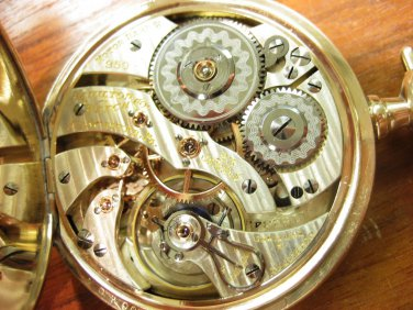 (SOLD) Hamilton 950 Pocket Watch, Made 1914, 23 Jewels, (Pocket Watches)