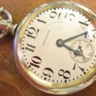 16 Size Waltham 23 Jewel Vanguard Pocket Watch - Model 1908 (Pocket Watches)