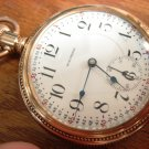 Waltham Crescent St Pocket Watch–18 Size Outstanding 2-Tone, Ornate Case (Pocket Watches)