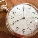 Waltham Crescent St. 21 Jewels 18 Size Pocket Watch – Ornate Rose Gold (GF) Case (Pocket Watches)