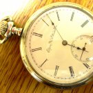 Elgin Pocket Watch - 16 Size, 17 Jewels, C1896  Recently Serviced (Pocket Watches)