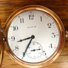 Elgin Pocket Watch – Hunter Style, 12 Size, Near Mint Condition (Pocket Watches)