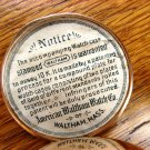 Waltham 6 Size, 10K Gold Hunter Style Case Pocket Watch – (Pocket Watches)