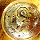 Illinois Bunn Special Two-Tone Pocket Watch – 18 Size, 21J (Pocket Watches)