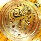 Illinois Bunn Special 24 Jewels Pocket Watch – Ornate Choo Choo Case (Pocket Watches)