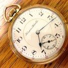 Hampden Pocket Watch, Grade 107, 16 size – 17 Jewels, Made 1908 (Pocket Watches)