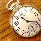 Waltham Up/Down Indicator 23 Jewel Vanguard Pocket Watch - C1919 (Pocket Watches)