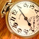 Illinois 161 Elinvar Bunn Special, RR Grade, Pocket Watch – Made 1931 (Pocket Watches)