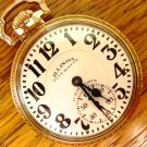 Illinois 163 Bunn Special, Marked Dial, 23 Jewels, RR Grade, Pocket Watch – (Pocket Watches)