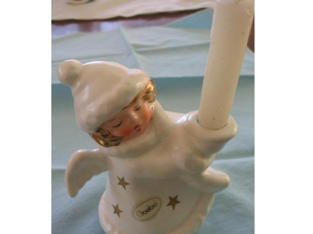 Goebel Angel Figurine with Candleholder