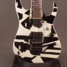 DREAM THEATER JOHN PETRUCCI Mini Guitar BLACK WHITE Miniature Collectible Gift