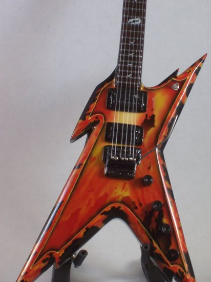 PANTERA DIMEBAG DARRELL Mini Guitar EXPLOSION Collectible Gift