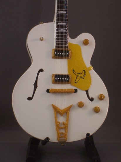 Miniature Guitar BRIAN SETZER Mini Collectible Gift
