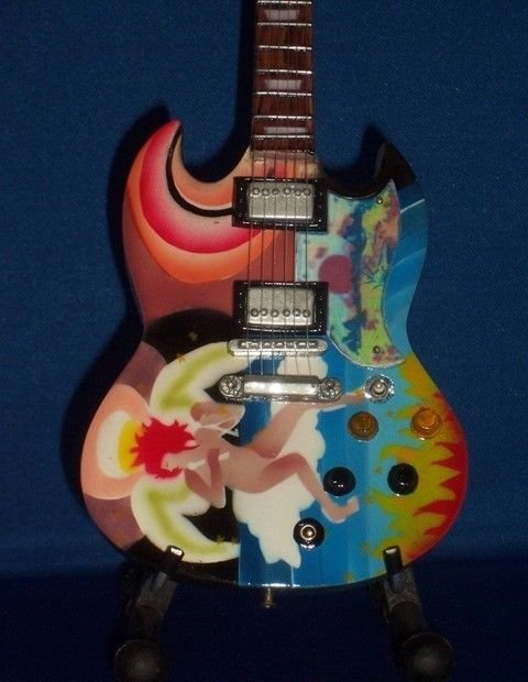 ERIC CLAPTON Mini Guitar FOOL SG Collectible Gift