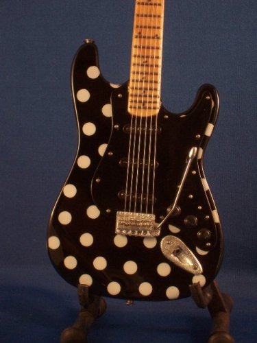 BUDDY GUY Mini Guitar POLKA DOT Blues Memorabilia Collectible Gift