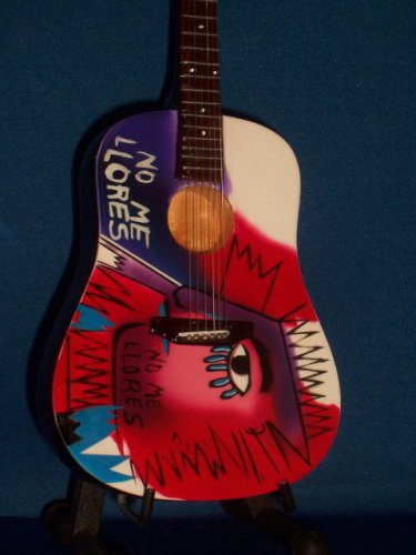 COLDPLAY CHRIS MARTIN Mini ACOUSTIC Memorabilia Guitar Collectible Gift