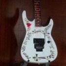 WARREN DeMARTINI Mini RATT Guitar FRENCHY Collectible Gift