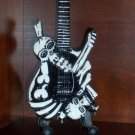 GEORGE LYNCH  Mini Famous J FROG 2 SKULLS Guitar  Collectible Gift