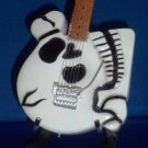 POISON CC DEVILLE Mini Skeleton Miniature Guitar