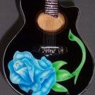POISON BRET MICHAELS Mini Acoustic Guitar Memorabilia Collectible Gift